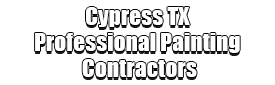Cypress TX Professional Painting Contractors Logo-We offer Residential & Commercial Painting, Interior Painting, Exterior Painting, Primer Painting, Industrial Painting, Professional Painters, Institutional Painters, and more.